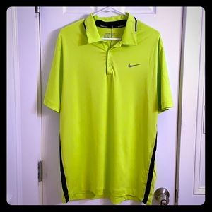 NIKE Golf DRI-FIT Polo NWT Men's L